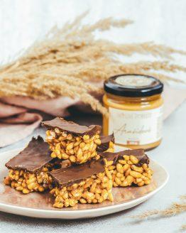 Arašídový krém 200g křupavé čokoládové kostky