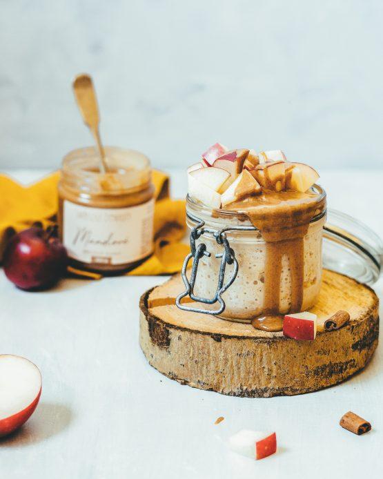 Mandlový ořechový krém 200g snídaně ovesná kaše