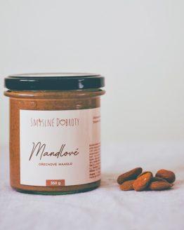 Mandlove maslo, mandlovy krem, oriskove maslo, zdrava snidane, sladkost, cukrovinka