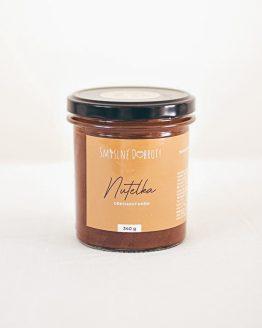 Nutelka ořechový krém 340g ruční výroba bezobalu kvalita ořechové máslo