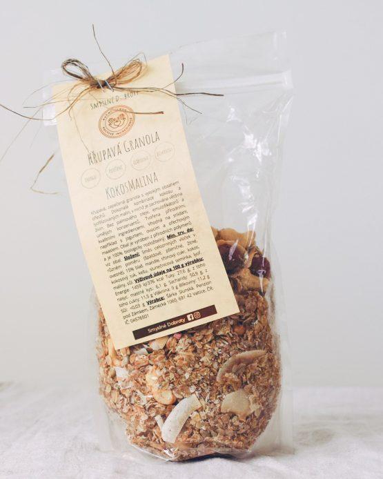 Granola kokosmalina