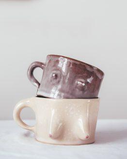 BOOBIE MUG - keramický hrnky, ruční výroba